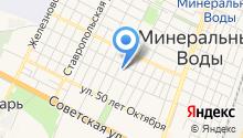 МИД РФ на карте