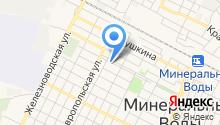 ЗАГС Минераловодского района на карте