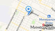 Союз-КМВ на карте