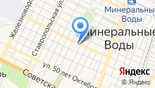Минераловодская районная больница на карте