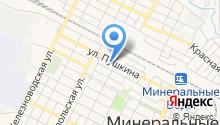 Центр образования г. Минеральные Воды и Минераловодского района на карте
