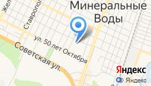 Минераловодская центральная районная больница на карте