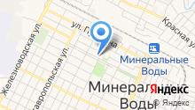 Городской юридический центр на карте
