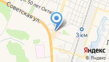 МСКА на карте