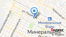 Отдел МВД России по Минераловодскому городскому округу на карте