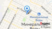 Отдел МВД России по Минераловодскому району на карте