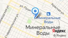 Минераловодский городской суд на карте