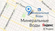 Отель-Кавказ на карте