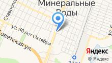 Альянс КМВ на карте