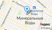 Центр занятости населения Минераловодского района на карте