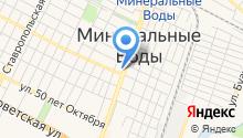 Центр недвижимости на карте