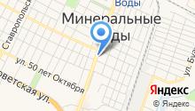 Авиатур МВ на карте