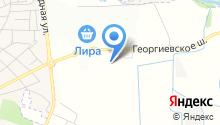 Веллтекс Пятигорск на карте