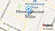 Сандал на карте