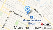 Минераловодское Линейное управление МВД России на транспорте на карте