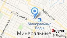 Управление специальной связи по Ставропольскому краю на карте