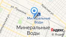 МЕДВЕДЬ-КМВ на карте