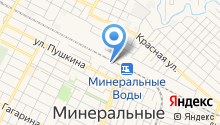 Отделение специальной связи по Ставропольскому краю на карте