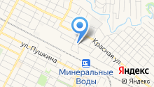 Управление Федеральной Службы РФ по контролю за оборотом наркотиков по Ставропольскому краю на карте