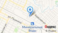 Служба на Кавказских Минеральных Водах Управления Федеральной службы по контролю за оборотом наркотиков по Ставропольскому краю на карте