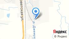 Кулон Югрос, ЗАО на карте