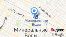 Минераловодская территориальная коллегия адвокатов на карте