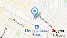 Минераловодская типография, ЗАО на карте