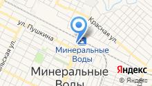 Минераловодская межрайонная транспортная прокуратура на карте