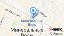 Минераловодское региональное отделение профсоюза железнодорожников на карте