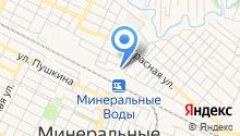 Минераловодский центр социального обслуживания населения на карте