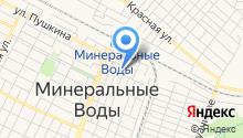 Ставропольский кооперативный техникум экономики, коммерции и права на карте