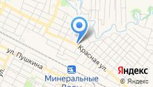 Молодежный центр Минераловодского городского округа, МБУ на карте
