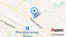 Кавминпром на карте