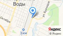 Сосногорскпромлес на карте