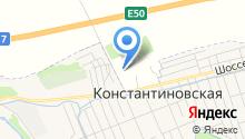 Горячеводский на карте