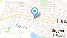 Казачья община на карте