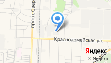 Артезианский источник-Дзержинск на карте