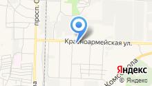 Волгоградский на карте