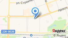 Золотая подкова на карте