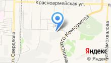 Дзержинскхлеб на карте