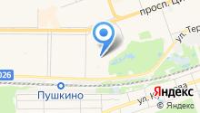 Дзержинскстрой на карте