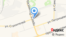 Жемчужина Поволжья на карте
