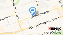Джорджинск на карте