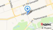 Арго-НН на карте
