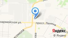Аквариус на карте