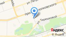 АльтаФорсаж на карте