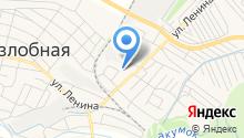 Детский сад №1, Тополёк на карте