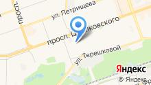 дзержинскпромхимторг-нн на карте