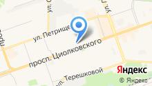 Автошкола №1 на карте