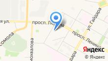 АШАН на карте